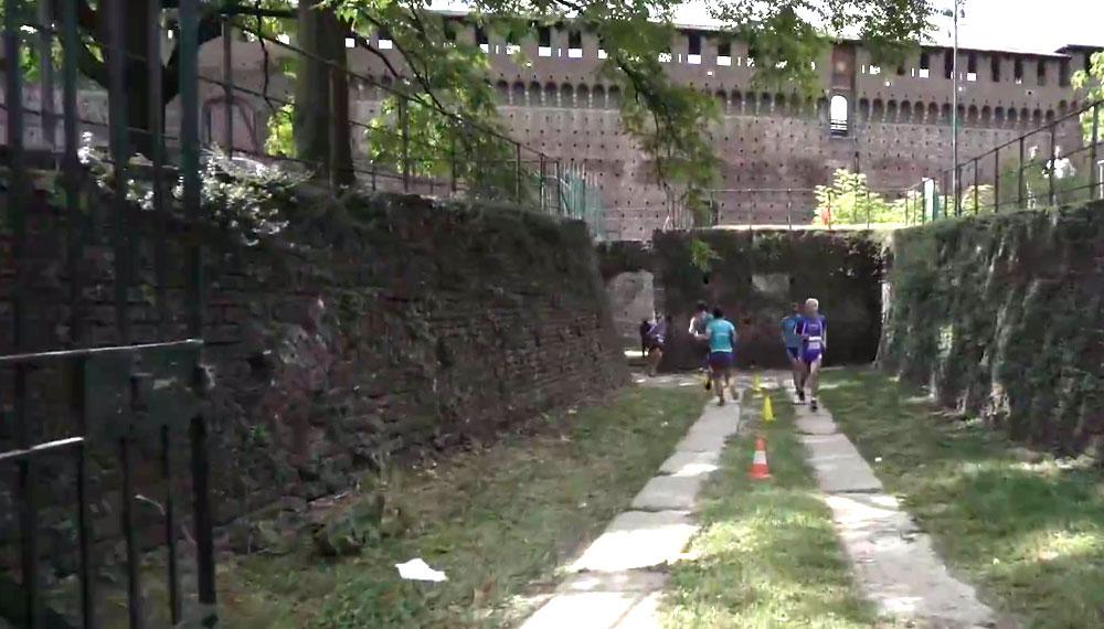 Il video della gara dei record